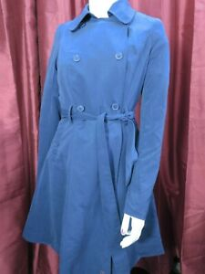 Her Universe Doctor Who TARDIS trench coat jacket top 13th cosplay XS NWT