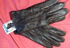 Mongol Savkhi Leather Gloves - Brown - Size 9 - NWT