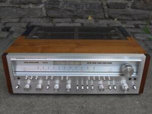 Vintage Pioneer SX-1250 stereo receiver  amplifier . Restored.