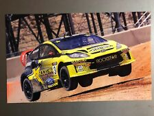 2012 Tanner Faust Ford Focus World Rally Car Picture / Print / Poster RARE! L@@K