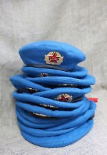Soviet Russian VDV Paratrooper Military Beret Hat Cap USSR Size 58 XL Red Army
