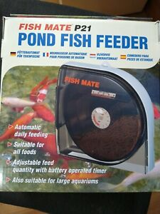 Fish Mate P21 Automatic Pond Fish Feeder