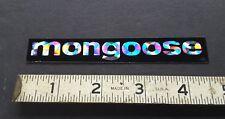 Vintage 70s MONGOOSE bmx sticker old school