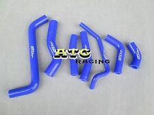 Kawasaki KX450F KXF450 2009 2010 2011 2012 2013 silicone radiator hose Kit Blue