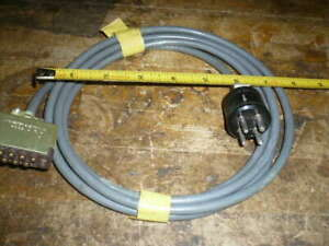 Ion gauge tube cable