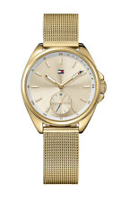 Tommy Hilfiger Women's Watch 1781757 Analog Stainless Steel Gold