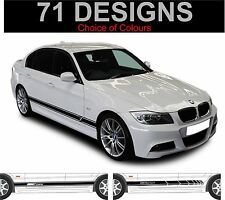 BMW SERIE 3 BMW 316 318 320 323 325 328 330 335 Lato Strisce Decalcomanie