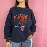 Vintage 90s Chicago Bears Sweatshirt Mens Size XL Crewneck Lee Sport NFL