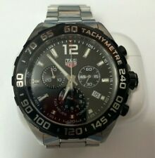 Pre-owned Tag Heuer Formula 1 Caz1010 Wrist Watch for Men