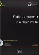 CARISCH W.A. MOZART-FLUTE concerto in G Major KV 313 + CD-FLAUTO classica SH