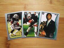 1998 Topps Season Opener Football Oakland Raiders TEAM SET