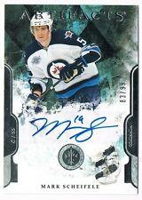 2011-12 ARTIFACTS ROOKIE AUTOGRAPH REDEEMED #VI MARK SCHEIFELE 83/99 !!