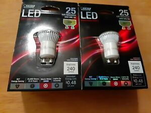 Feit Electric 74723 LED Dimmable MR11 Light Bulb, FREE SHIPPING