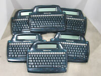 LOT of 6 AlphaSmart 3000 Portable Word Processor Laptops Tested and Working