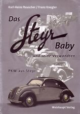 Book - Das Steyr Baby & seine verwandten - Cars Baby Ledwinka Fiat - 2nd edition