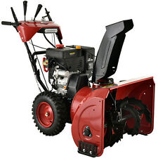 Amico Power 28 inch 252 cc Two-Stage E-Start Gas Snow Blower with Heated Grips