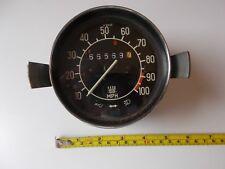 Vintage Vdo Saab Speedometer Vintage Car Untested Use/ Restore