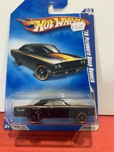 Hot Wheels 70 Plymouth Road Runner  03/10 Muscle Mania