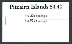 Pitcairn 1990, $4.40 Ships Definitives Booklet sgSB2 Fine Mint