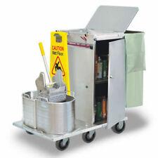 Royce Rolls #F30-08E Stainless Steel Mini-Size Folding Housekeeping Cart