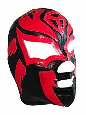 SOMBRA (pro-fit) Mexican Lucha Libre Wrestling Mask - Black/Red