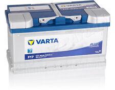 Autobatterie VARTA 12V 80 Ah F17 80Ah ersetzt 74 75 77 85 90 100 Ah