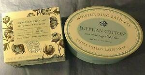 CST~COMMONWEALTH~EGYPTIAN COTTON~12oz Bath Bar Soap or 3-4oz~Triple Milled~No 01