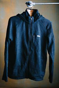 Vintage Patagonia zip-up Hoodie in black - L