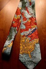 Airplanes Travel Jet Pilot Aviation World Men's On A New Neck Tie! Free Shipping