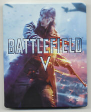 Battlefield V Electronic Arts Steelbook Case New - No Game