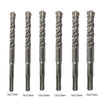 SDS-Plus Carbide-tipped Masonry Drill Bit 210mm Rotary Twist Hammer Bit