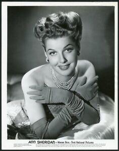 ANN SHERIDAN in AMAZING BARE SHOULDER PORTRAIT Original Vintage 1940s Photo