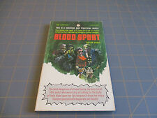 "Blood Sport by Victor Cross  Rare 60's Juvie Gang Novel ""Shocking &Terrifying"""