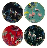 Sara Miller London for Portmeirion Tahiti Collection Salad Plates Set of 4