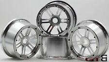 GTB Baja 5B CNC wheel alloy rim + beadlock for HPI KM Rovan