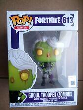 Fortnite-Ghoul Trooper (zombie) FUNKO POP Vinilo Figura #613 Raro Nuevo! en Jand