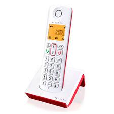 Teléfono Inalámbrico Alcatel S250 rojo