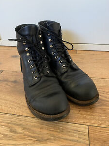 Red Wing Shoes Boots Iron Ranger Round Toe Mod. 8114 Gr. 44 US 10,5 D