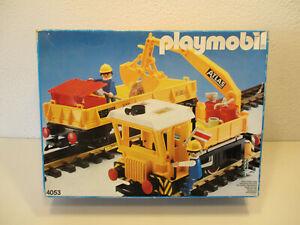 ( SRH) 4053 Bauzug Arbeitszug OVP Spur G Lok Zug LGB Eisenbahn