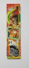 Cats Cardboard Magnetic Bookmark 4'' lenght (10cm)