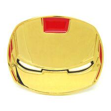 Square Superhero Ironman Belt Buckle Retro Plate Fashion Belt Buckles