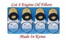 (4) Engine Oil Filter Fits:Mercedes-Benz Dodge Sprinter 2500 3500 V6 3.0L Diesel