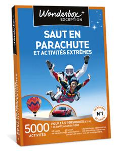 Coffret WONDERBOX  Saut en parachute et activités extrêmes
