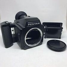 【Exc+++++】Pentax 645 Medium Format  Film Camera w/120 Film Back,From Japan 311