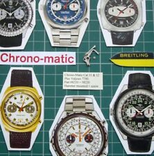 1970s Chrono-Matic Breitling Heuer Cal.11+12+14+Val 7740 #8220 Hammer Mounted
