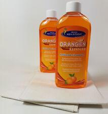 Aqua Clean Orangenreiniger 2x250ml mit 2 hochwertigen Tüchern