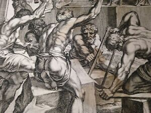 Gravure  16eme siècle