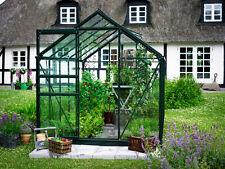 Juliana Gewächshaus Halls Popular 106 ALU Grün 6,2 m² 3 mm Blankglas TOP NEU