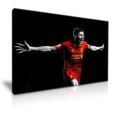 Steven Gerrard Liverpool Football Canvas Wall Art Picture Print 76x50cm