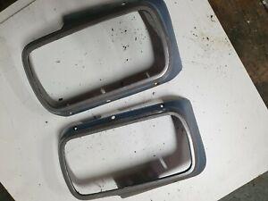 Ford Capri MK1 prefacelift leadlamp surrounds - pair